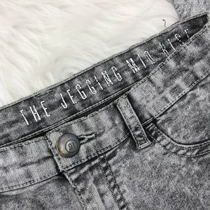 Cotton On Jeans - Cotton On The Jegging Mid Rise Acid Wash Jeans